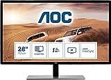 AOC Monitor U2879VF- 28' UHD, 60 Hz, 1ms, TN, FreeSync, 3840x2160, 300 cd/m, D-SUB, HDMI 1x2.0,...
