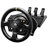 Thrustmaster TX Racing Wheel Leather Edition, Volante y Pedales, Xbox Series X S, Force Feedback,...