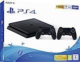 Playstation 4 (PS4) - Consola 500 Gb + 2 Mandos Dual Shock 4 (Edición Exclusiva Amazon)