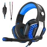 Auriculares Gaming, LATEC Estéreo PS4 Cancelación De Ruido Gaming Headset para PC, Controlador de...