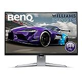 BenQ EX3203R - Monitor Curvo Gaming de 31.5' (QHD 2K, 144 Hz, HDR, FreeSync 2, Sensor B.I, HDMI,...
