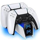 OIVO Cargador Mando PS5, 2H Rápido Base de Carga para Playstation 5 DualSense, Estación de Carga...