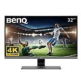 BenQ EW3270U - Monitor para entretenimiento de vídeo de 32' 4K UHD (3840x2160, 4ms, 60Hz, 2x HDMI,...