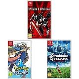 Daemon x Machina + Pokémon Espada + Xenoblade Chronicles: Definitive Edition