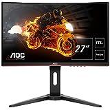 AOC Monitor Gaming C27G1 - 32' Curved 1800R, QHD, 144Hz, VA, 1ms, FreeSync Premium, 2560x1440, 300...