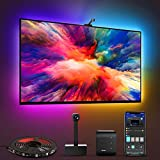 Govee Immersion Tira LED TV con Cámara 3,8m, WiFi Luces LED Habitacion RGBIC Alexa y Google...