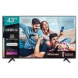 Hisense 43AE7000F UHD TV 2020 - Smart TV Resolución 4K con Alexa integrada, Precision Colour,...