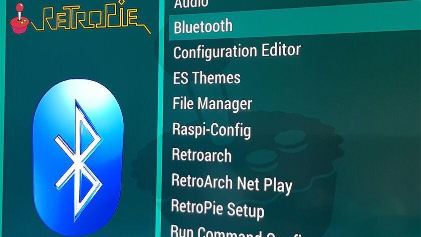 Bluetooth en RetroPie