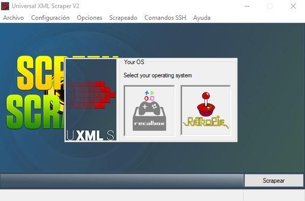 Universal XML Scraper varios sistemas