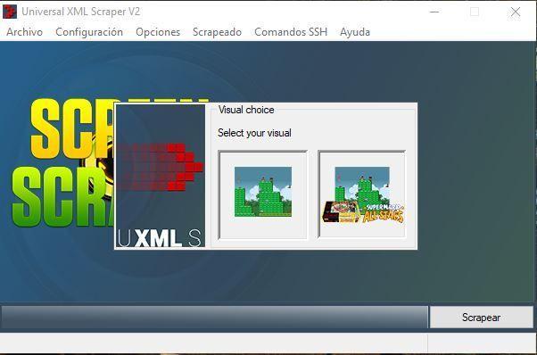 Universal XML Scraper tipo de imagen