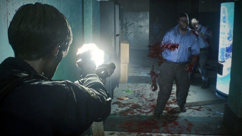 Resident Evil 2 - sistema de punteria