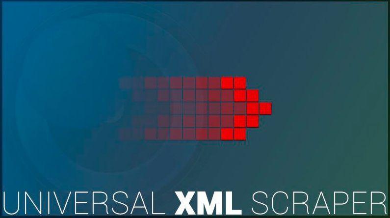 Tutorial Universal XML Scraper