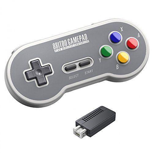 8BitDo SF30: El mejor mando bluetooth para Super Nintendo Classic mini