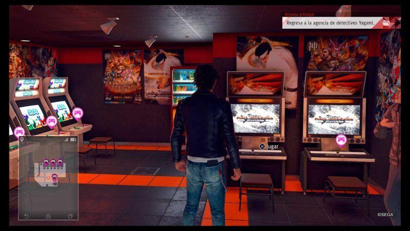 Análisis Judgment ps4 Club Sega
