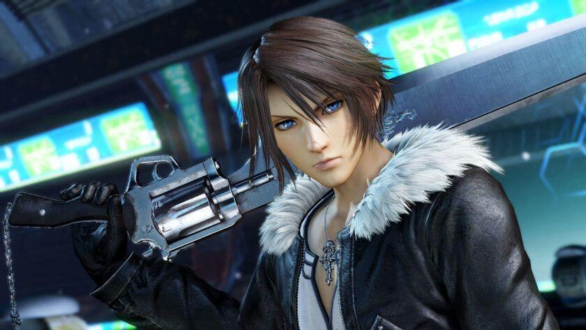 Squall Remastered Final Fantasy VIII