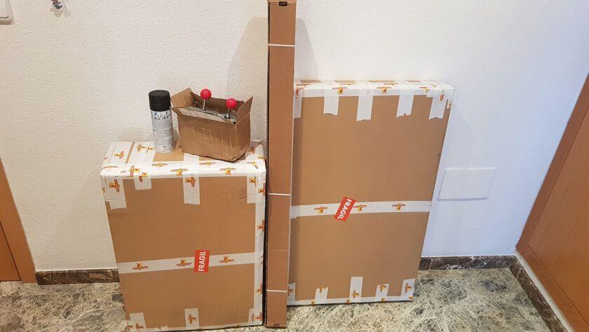 materiales mueble arcade