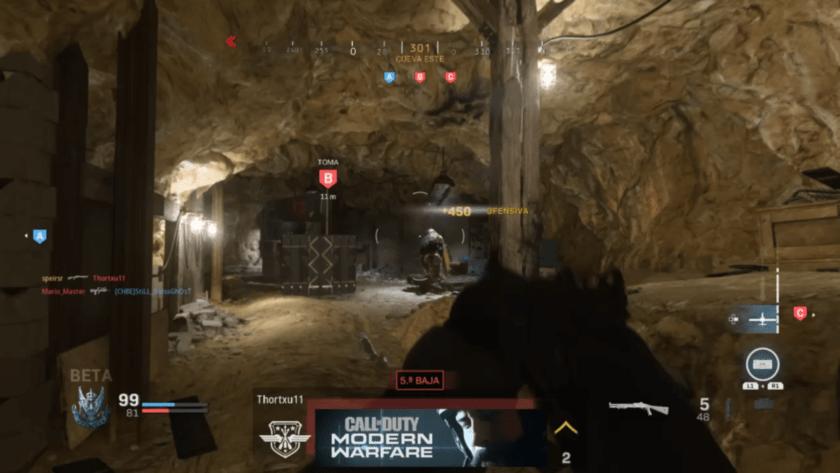 Beta Modern Warfare Azhir Cave