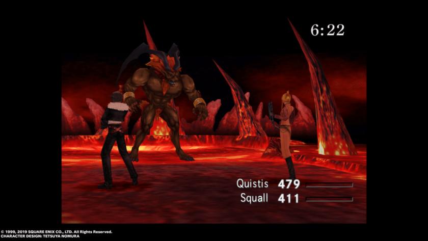 Ifrit Final Fantasy VIII Remastered Impresiones
