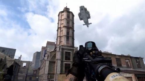 helicóptero de apoyo call of duty