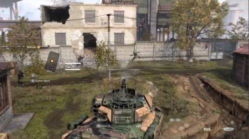 vehículo de asalto de infantería modern warfare