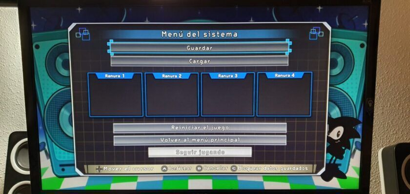 menu emulador