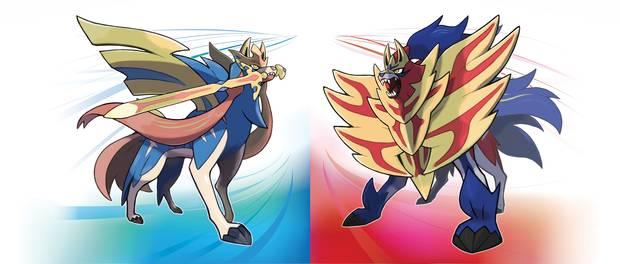 legendarios pokémon espada y escudo