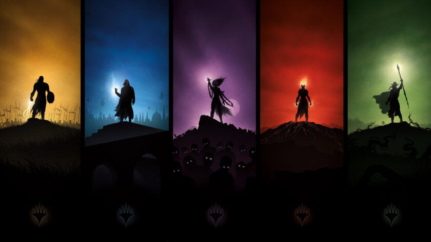 magic the gathering arena colores