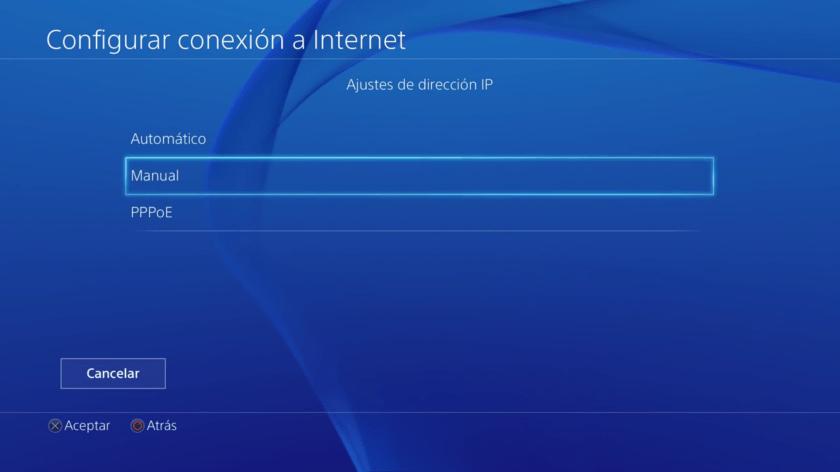 configurar conexión a internet ps4