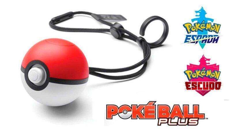 poké ball plus pokémon espada y escudo