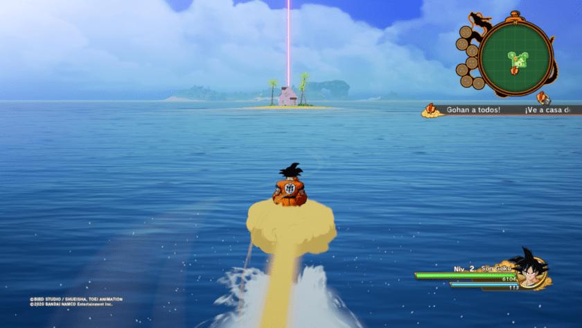 volar dragon ball z kakarot