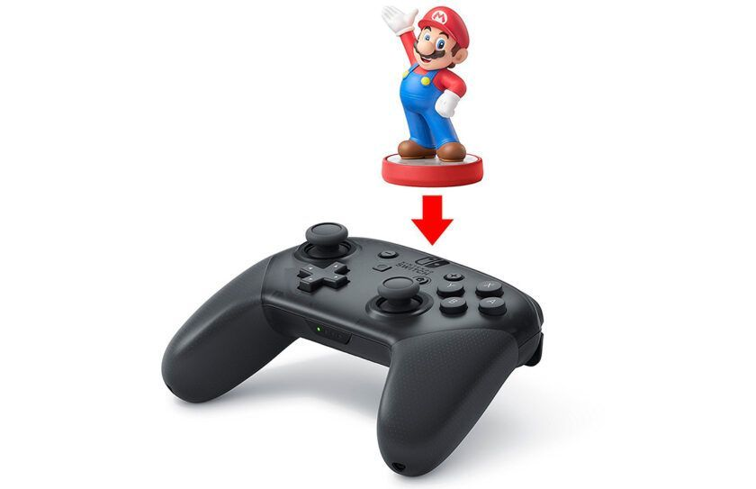 NFC lector pro controller nintendo switch