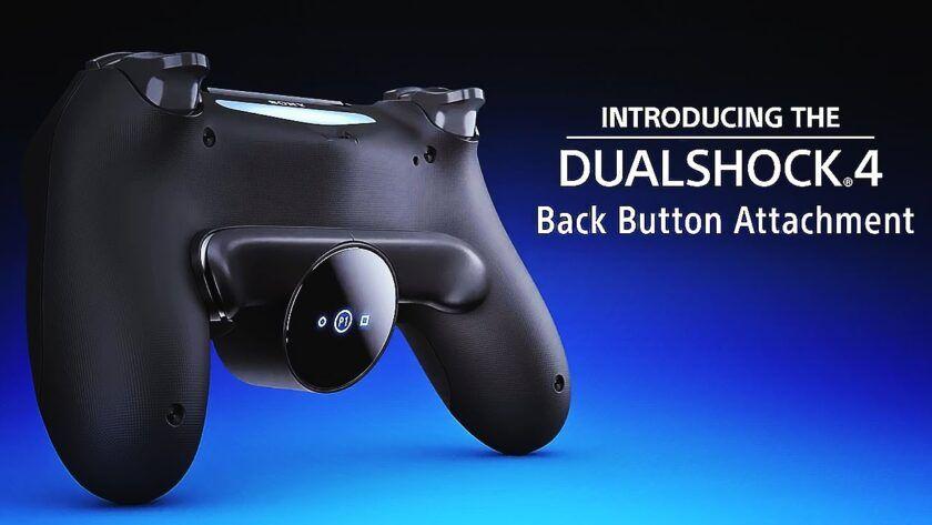 botones traseros dualshock 4
