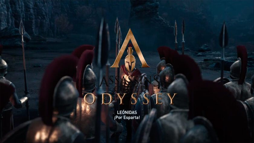 assassins creed odyssey esparta