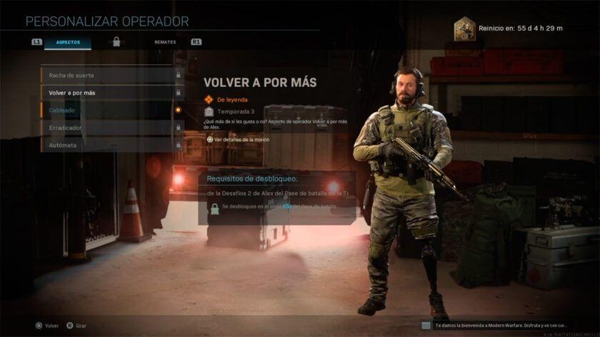 como conseguir a alex operador modern warfare