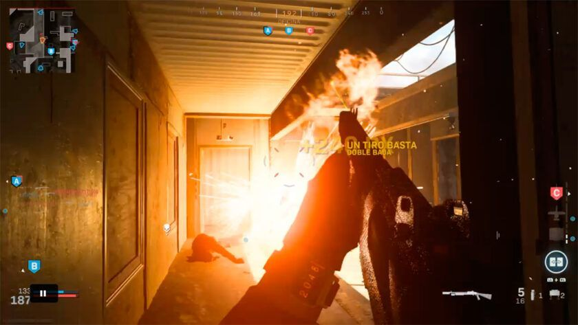 balas fuego modern warfare