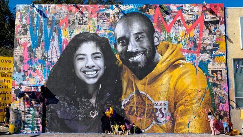 mural homenaje kobe bryant los angeles