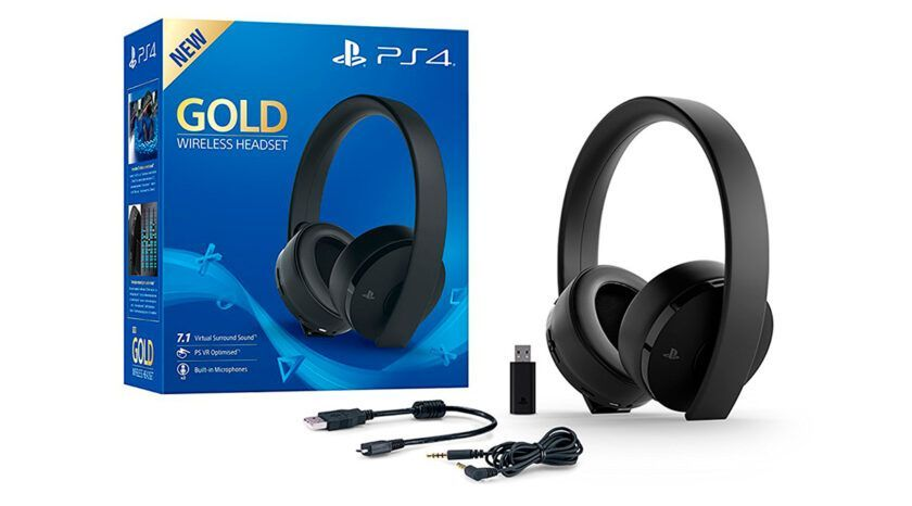 auriculares inalámbricos compatibles ps4 sony gold