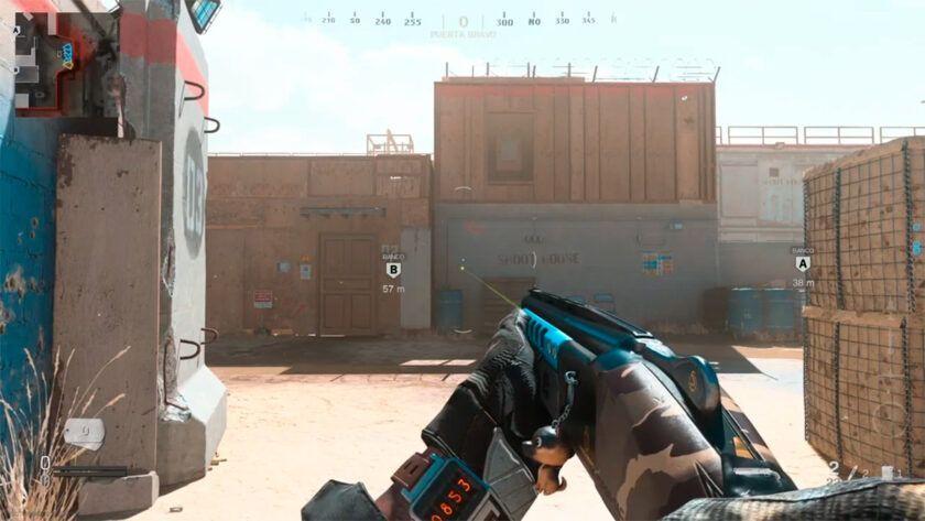 clase escopeta 725 modern warfare