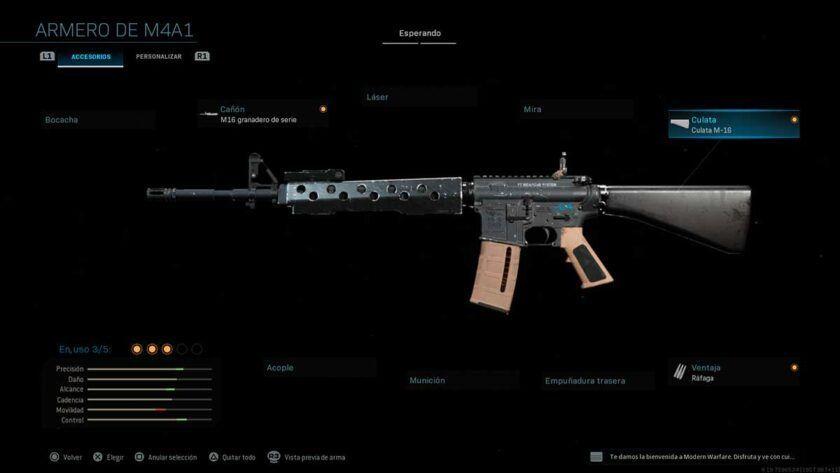 m16 armas secretas modern warfare
