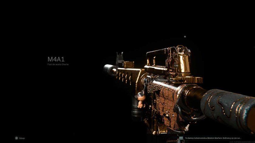 clase m4a1 modern warfare