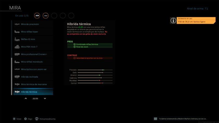 personalizar armas warzone color