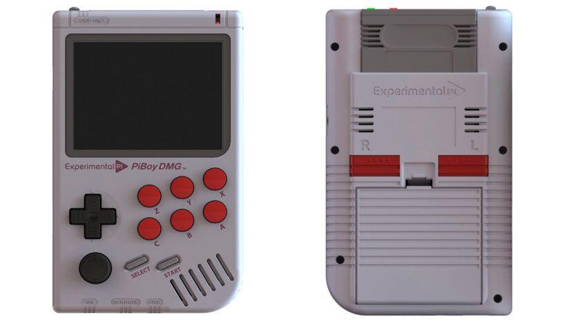 portátil retro PiBoy DMG