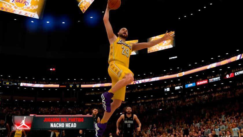mi carrera NBA 2k20