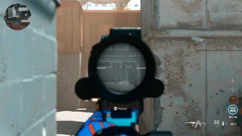 tiros lejanos mira térmica shoothouse
