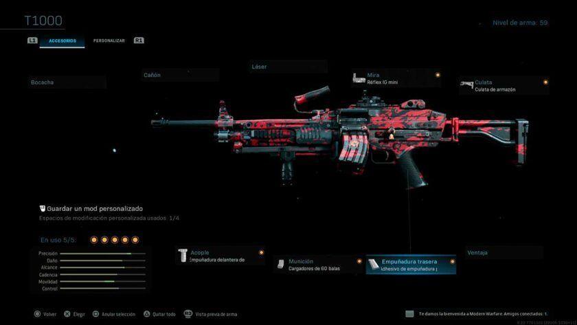 mejor clase mk9 modern warfare y warzone