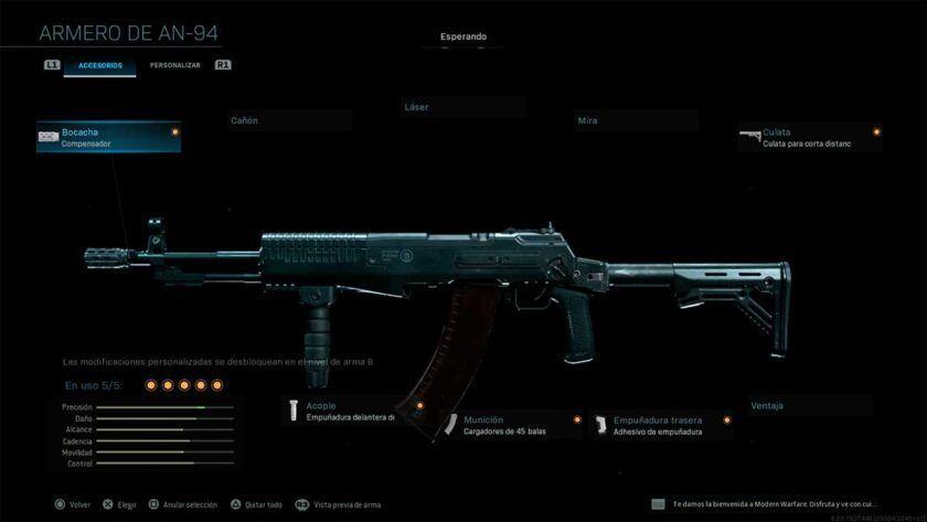 an94 an 94 modern warfare