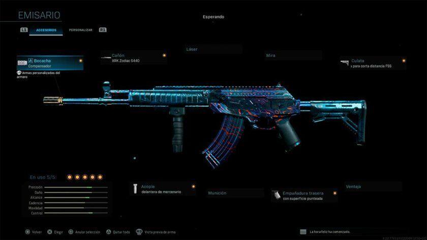mejor clase cr56 amax galil modern warfare warzone