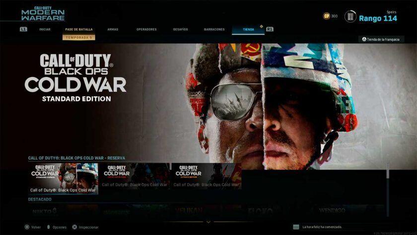 black ops cold war standard edition
