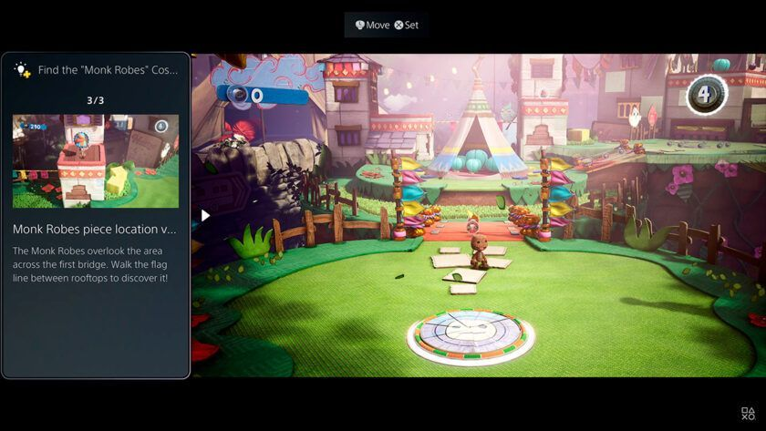 video guia actividades experiencia de usuario playstation 5
