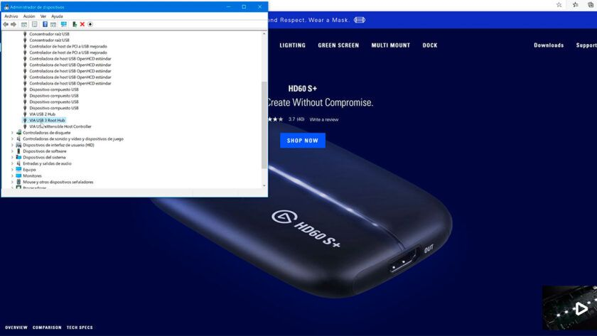 Drivers USB 3.0 elgato hd60 s+